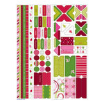 KI Memories - Holiday Collection - Joyful Set - Christmas - Cardstock Essentials Stickers, CLEARANCE