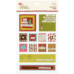 KI Memories - Love Elsie - Noel Christmas Collection - Gel Stickers - Noel Square Gels, CLEARANCE