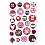 KI Memories - Love Elsie - Betty Collection - Gel Stickers - Betty Round Gels, CLEARANCE
