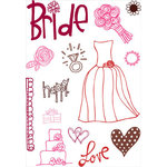KI Memories - Love Elsie - Betty Collection - Clear Stamps - Betty Images, CLEARANCE