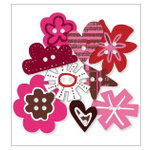 KI Memories - Love Elsie - Betty Collection - Chipboard Buttons - Betty Shapes, BRAND NEW