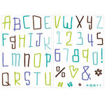 KI Memories - Love Elsie - Toby Collection - Clear Stamps - Toby Techno Upper Alphabet, BRAND NEW