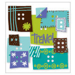 KI Memories - Love Elsie - Toby Collection - Chipboard Buttons - Toby Blocks, BRAND NEW
