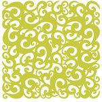 KI Memories - Pop Culture Collection - Lace Cardstock - Perm - Sublime - Green