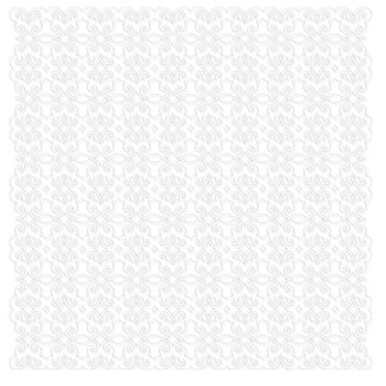 KI Memories - Pop Culture Collection - Lace Cardstock - Gossip - White