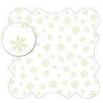 KI Memories - Sheer Delights - 12 x 12 Die Cut Plastic - Delicate, CLEARANCE