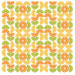 KI Memories - Juicy Summer Collection - 12 x 12 Glitter Paper - Citrus Mix, CLEARANCE