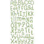 KI Memories - Enchanting Collection - Alphabet Glitter Stickers - Enchanting