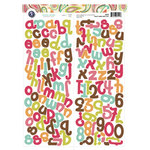 KI Memories - Paisley Parade Collection - Alphabet Cardstock Stickers - Simply Cute