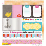 KI Memories - Hot Date Collection - 12 x 12 Double Sided Paper - Pretty Things