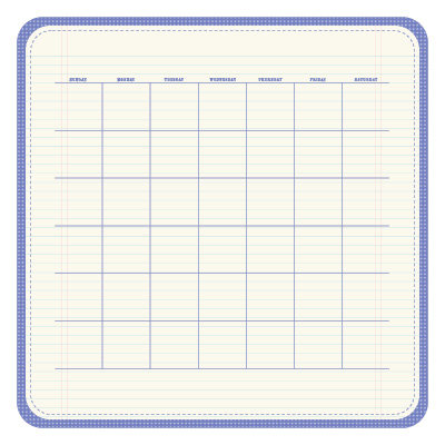 KI Memories - Sew Cute Calendars Collection - 12 x 12 Double Sided Die Cut Paper - Loyal