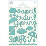 KI Memories - Frosting - 3 Dimensional Puffy Stickers - April