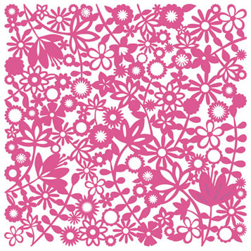 KI Memories - Glitter Lace Cardstock - Flower Child Pinata, CLEARANCE