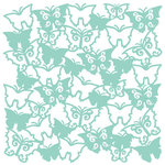 KI Memories - Glitter Lace Cardstock - Flutter Breeze, CLEARANCE