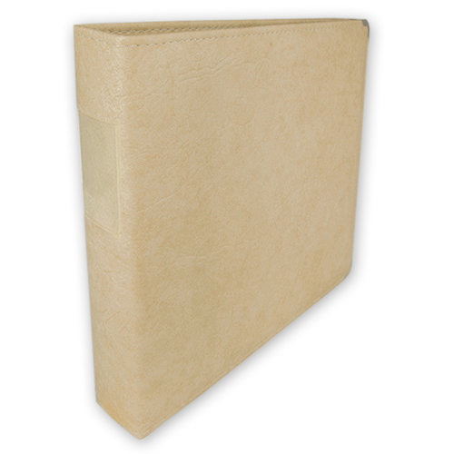 Umbrella Crafts - 3 Ring Memory Albums - 12 x 12 - Antique Ivory