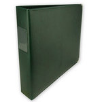 Umbrella Crafts - 3 Ring Memory Albums - 12 x 12 - Forest Green