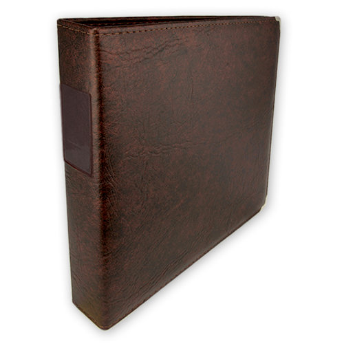 Keeping Memories Alive 3 Ring Memory Albums - 12 x 12 - Walnut