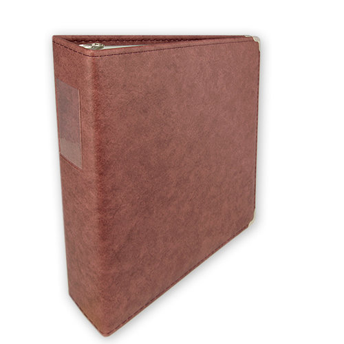 Keeping Memories Alive 3 Ring Memory Albums - 8.5 x 11 - Antique Rose