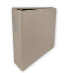 Keeping Memories Alive - 3 Ring Memory Albums - 8.5x11 - Taupe