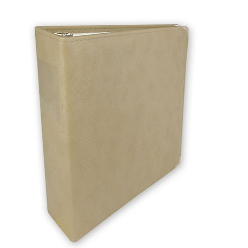 Keeping Memories Alive - 3 Ring Memory Albums - 8.5x11 - Beige