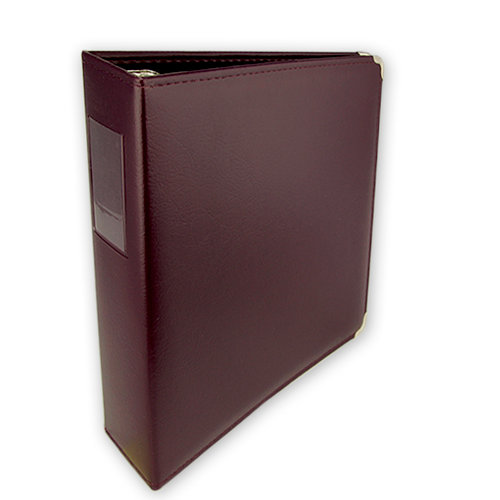 Keeping Memories Alive - 3 Ring Memory Albums - 8.5x11 - Deep Plum