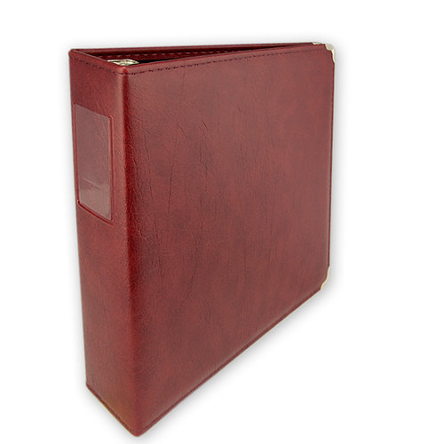Keeping Memories Alive - 3 Ring Memory Albums - 8.5x11 - Maroon