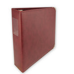 Umbrella Crafts - 3 Ring Memory Albums - 8.5x11 - Maroon