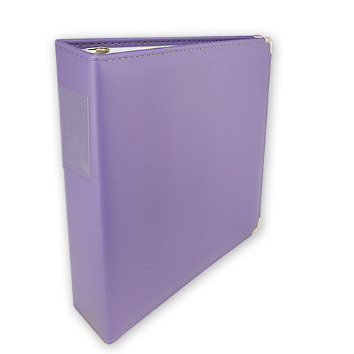 Keeping Memories Alive - 3 Ring Memory Albums - 8.5x11 - Purple