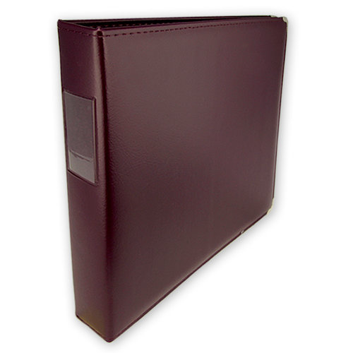 Keeping Memories Alive - 3 Ring Memory Albums - 12x12 - Deep Plum