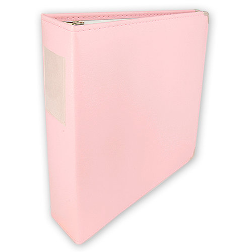 Umbrella Crafts - 3 Ring Memory Albums - 12x12 - Pale Pink