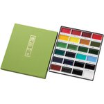 Kuretake - Gansai Tambi - Traditional Solid Watercolours - 24 Piece Set