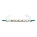 Kuretake - ZIG - Memory System - Dual Tip Calligraphy Marker - Teal