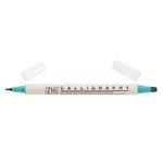 Kuretake - ZIG - Memory System - Dual Tip Calligraphy Marker - Ocean