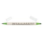 Kuretake - ZIG - Memory System - Dual Tip Calligraphy Marker - Spring Green