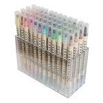 Kuretake - ZIG - Memory System - Dual Tip Calligraphy Marker - 48 Piece Set