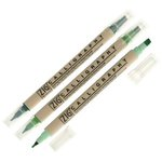 Kuretake - ZIG - Memory System - Dual Tip Journal and Title Marker - 3 Piece Set - Flush
