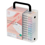Kuretake - ZIG - Memory System - Dual Tip Journal and Title Marker - 48 Piece Set
