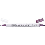 Kuretake - ZIG - Memory System - Dual Tip Journal and Title Marker - Aubergine