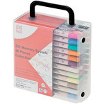 Kuretake - ZIG - Memory System - Assorted Pen - Dual Tip Collection Set - 48 Pieces