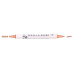 Kuretake - ZIG - Memory System - Dual Tip Scroll and Brush Marker - Baby Pink