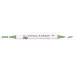 Kuretake - ZIG - Memory System - Dual Tip Scroll and Brush Marker - Spring Green