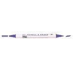 Kuretake - ZIG - Memory System - Dual Tip Scroll and Brush Marker - Pure Violet