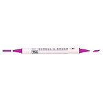 Kuretake - ZIG - Memory System - Dual Tip Scroll and Brush Marker - Fuchsia