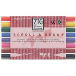 Kuretake - ZIG - Memory System - Dual Tip Scroll and Brush Marker - 8 Piece Set