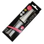 Kuretake - ZIG - Memory System - Wink Of Stella - Glitter Brush Marker - 3 Piece Set - Christmas Sparkle