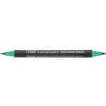 Kuretake - ZIG - Memory System - Dual Tip Calligraphy Marker - Chalk Pastel Colors - Green
