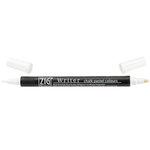 Kuretake - ZIG - Memory System - Dual Tip Writer Marker - Chalk Pastel Colors - White