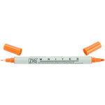 Kuretake - ZIG - Memory System - Dual Tip Writer Marker - Pure Orange