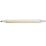 Kuretake - ZIG - Memory System - Dual Tip Calligraphy Marker - Metallic Colors - Silver