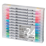Kuretake - ZIG - Clean Color - Real Brush Marker - 24 Piece Set